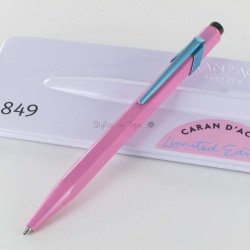 "Stylo Bille Caran d'Ache® 849 ""Claim Your Style"" Hibiscus"