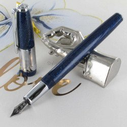 Stylo Plume Recife® Constellation Press Slim Bleu