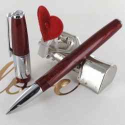 Stylo Roller Recife® Constellation Press Slim Rouge