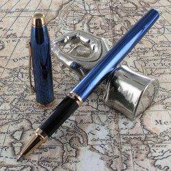 Stylo Roller Cross® Century II Bleu Cobalt Translucide