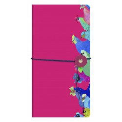 Carnet Clairefontaine® Les Coquettes Cordelette Rose