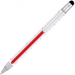 Stylo Bille Monteverde Tool Pen Edge Rouge & Blanc