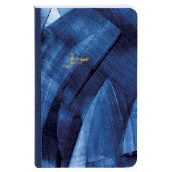 Carnet broché Clairefontaine® Indigo Bleu & Or