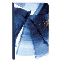 Carnet broché Clairefontaine® Indigo Bleu, Blanc & Or