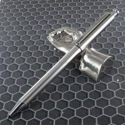 """Stylo LAMY """"Twin Pen st"""" Multi-Fonctions Acier Mat (Bille noire et mine 0,5)"""
