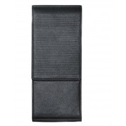Etui Cuir Lamy® 3 Stylos Noir Nappa