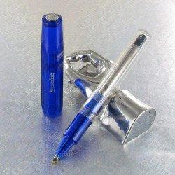 Stylo Roller Kaweco® Ice Sport Bleu Translucide