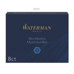 Cartouches Bleues/Noires Longues boite de 8 Waterman®