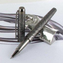 Stylo Roller Oberthur® Himalaya Gun Noir