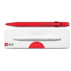 """Stylo Bille Caran d'Ache® 849 """"Claim Your Style"""" Rouge"""