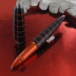 Stylo Roller Diplomat® Elox Noir et Orange