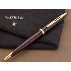 Stylo Bille WATERMAN® Carène Laque Ambre Marine  GT