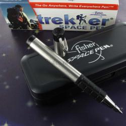 """Stylo Bille Fisher Space Pen® """"TREKKER"""" Chrome & Noir"""