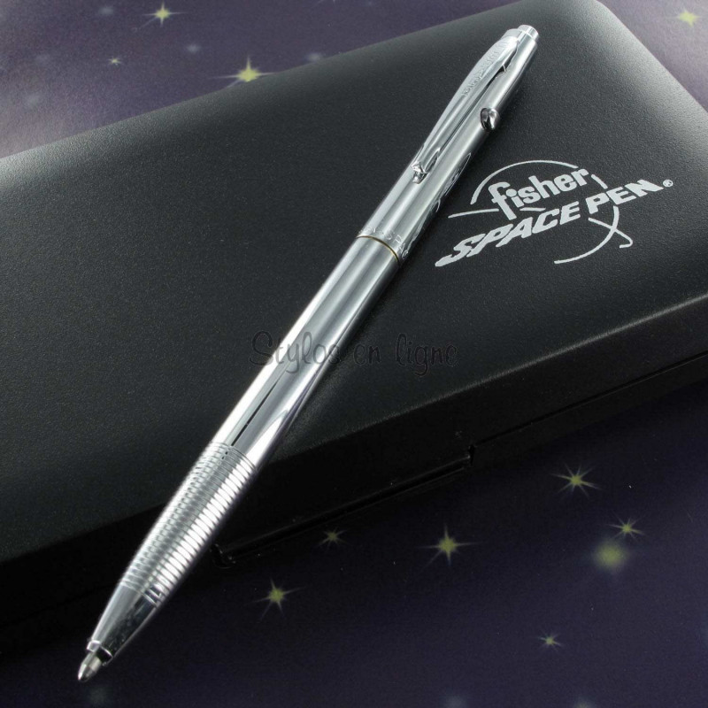 Stylo Bille Fisher Space Pen® Space 1 - Chromé -