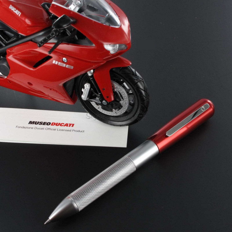 Stylo Bille Multi Fonctions 3+2 Alu & Rouge Ducati®