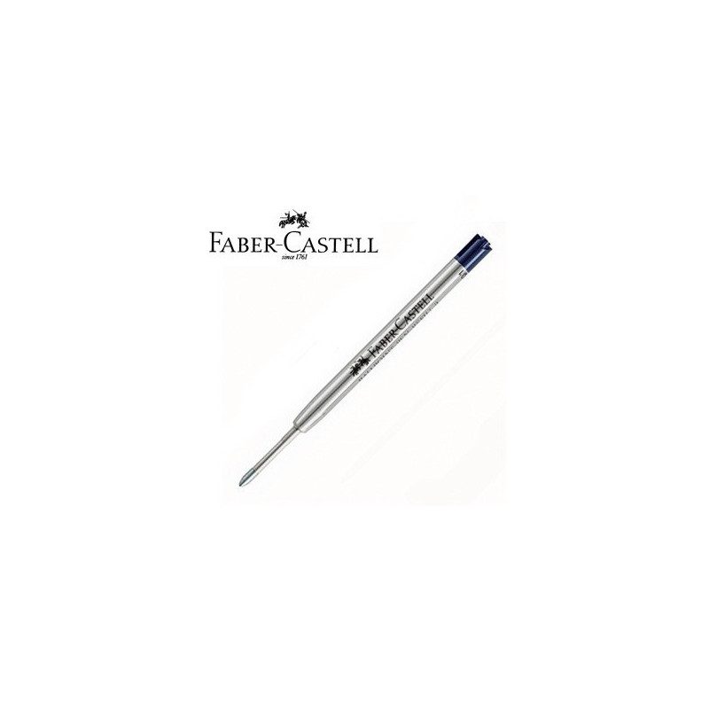 Recharge BILLE NOIRE (épaisseur : moyenne) FABER-CASTELL