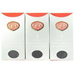 Lot de 5 boîtes de cartouches Noires Aurora®