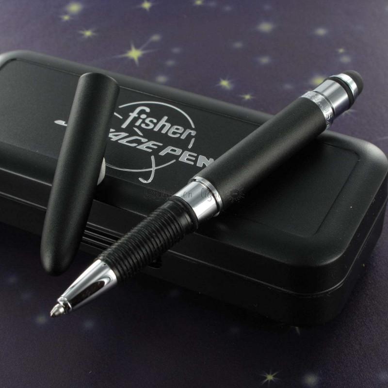 """Stylo Bille Fisher Space Pen® Pocket """"Bullet"""" Noir Mat Tactil"""