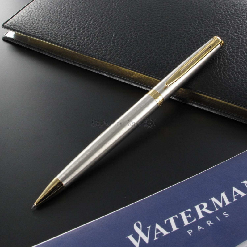 Portemine Hémisphère Acier Satiné GT de WATERMAN