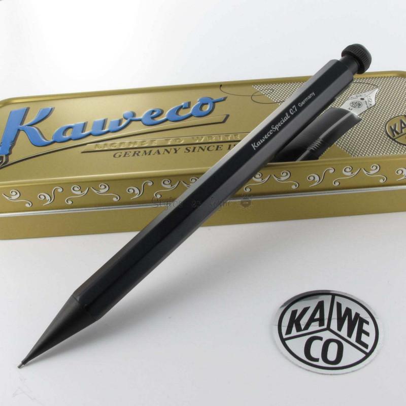Portmemine 0,7 mm Kaweco® Spécial Noir Mat Design Octogonal